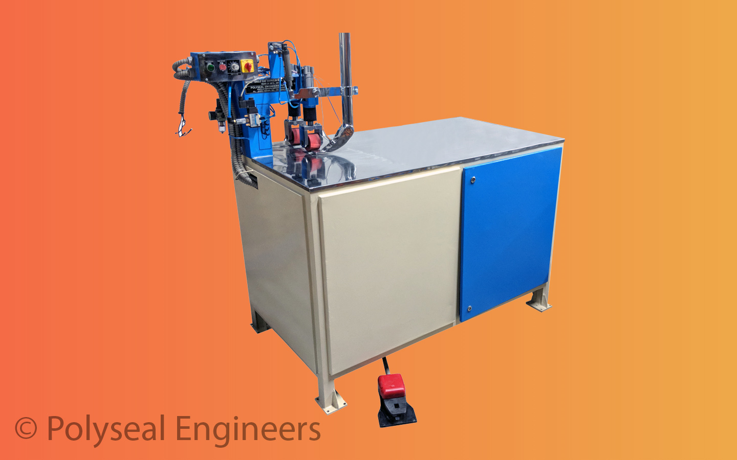 Tarpaulin Side Sealing Machine